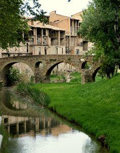 Pont romà i adoberies velles, Vic  Osona  Catalonia