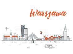 Warsaw /Cityscape series