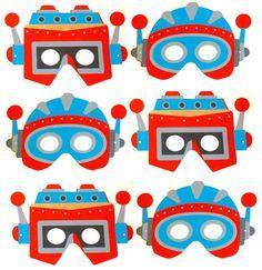 robot face masks
