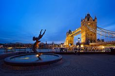 Tower Hill, London, England - Just across the Thames from where I'll be living at King's College London…