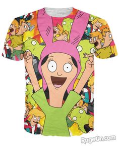 Louise Belcher V2 T-Shirt - RageOn! - The World's Largest All-Over-Print Online Store