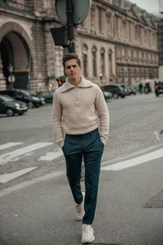 Casual Chic in Paris Casual Chic, Men Casual, Outfits Hombre, Business Casual Men, Gentleman Style, Minimal Fashion, Casual Outfits, Menswear, Mens Fashion
