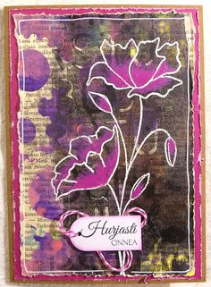 A Card for Mixedmedia Card Challenge on October 2016