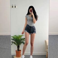 [New] The 10 Best Outfit Ideas Today (with Pictures) - Cute Casual Outfits, Pretty Outfits, Girl Outfits, Fashion Outfits, Ulzzang Fashion, Ulzzang Girl, Korean Fashion, Skinny Girl Body, Skinny Girls