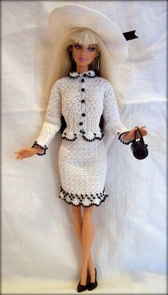 crochet barbie clothes ./.46.33.6 qw