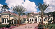 If it only had one more bedroom......perfect Casa Bellisima Home Plan | Sater Design Collection | Luxury House Plans