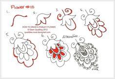 Gallery.ru / Фото #1 - Узоры.Уроки рисования от Quaddles-Roos - stradivari