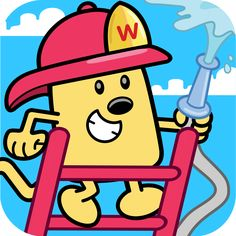 #AppyReview by Sharon Turriff @appymall Wubbzy's Fire Engine Adventure. This is a very cute story starring Wubbzy. The story is reasonably short so younger children don't get bored while reading it. There are interactive things on every page so your children get to join in the story while it is being read. This is great for teaching children about firefighters and what they do to help people around town besides just fighting fires. It i