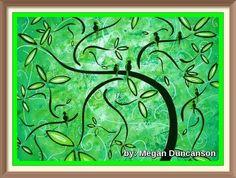Green Paintings, Night, Artwork, Instagram, Work Of Art, Auguste Rodin Artwork, Artworks, Illustrators