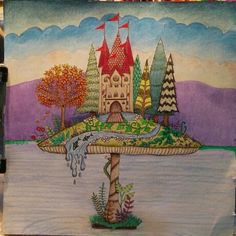 44 Best Enchanted Forest Pics I Colored Images On Pinterest