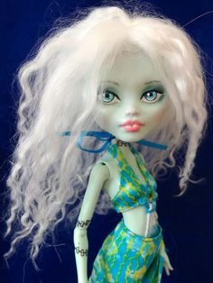 Fran - Monster High custom by Marina's art dolls, via Flickr