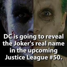 Well it's about time!! This is going to be awesome! It's weird cause in Dark Knight his real name was Melvin White, in Batman (1989) it was Jack Napier, and in one comic it was Alfred! So who knows, maybe they'll use one of these alter egos?