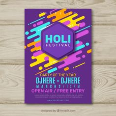 Flyer template word holi free event flyer templates for publisher music pos Holi, Gaming Posters, Party Fiesta, Flyer Free, Card Tattoo, Event Flyer Templates, Party Poster, Party Flyer, Graphic Design Posters