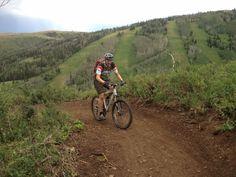 Pinecone Ridge Trail in Park City, UT