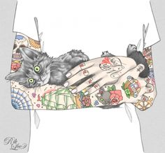 Tattoo Illustrations by Rik Lee | Cuded