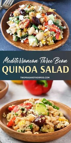 chicken salad recipes salad recipes salad recipes with italian dressing salad recipes salad recipes pasta salad recipes salad recipes recipes asparagus Quinoa Bean Salad, Cannellini Bean Salad, Quinoa Salat, Green Bean Salads, Lentil Salad, Green Beans, Recipe With Cannellini Beans, Chicken Quinoa Salad, Shrimp Salad
