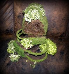WHOLESALE CASE 12 SMALL Moss Basket purse and other sizes also available.