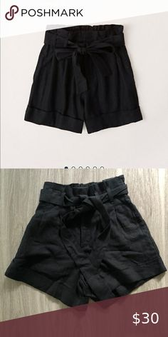 Abercrombie linen blend belted shorts ✨ LINEN-BLEND BELTED SHORTS Comfortable linen-blend shorts in an ultra high rise with 4-inch inseam, cuffed hem , adjustable tie waist  NWT Abercrombie & Fitch Shorts High Waist Abercrombie And Fitch Shorts, Belted Shorts, Fashion Tips, Fashion Trends, Fashion Design, High Waist, Short Dresses, Tie, Closet