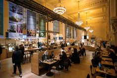 An emporium with a Nordic bent in Grand Central Terminal's Vanderbilt Hall.
