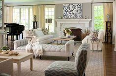 What Color Should I Paint My Living Room? I am liking greys,whites off whites blacks and gold