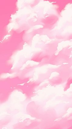 Pink Clouds Wallpaper, Pink Wallpaper Backgrounds, Kawaii Wallpaper, Cute Wallpaper Backgrounds, Pretty Wallpapers, Aesthetic Backgrounds, Aesthetic Iphone Wallpaper, Aesthetic Wallpapers, Murs Roses