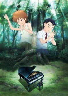 Piano no Mori - The Perfect World of Kai Piano Anime, Iron Fortress, Black Cat Marvel, Le Piano, Drawn Art, Vintage Hot Wheels, Eroge, Anime Reviews, Space Pirate