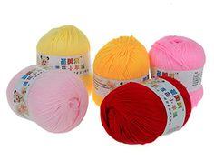 Imixlot 5pcs Smooth Worsted Soft Natural Silk Wool Fiber Baby Yarn Skein Knitting imixlot http://www.amazon.com/dp/B00LJJQ0T6/ref=cm_sw_r_pi_dp_u5gvvb00G9EYY