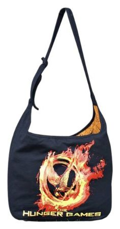 """The Hunger Games Movie Bag Shoulder bab with D ring strap """"Poster Art"""" « Only Women's Clothing $19.99"""