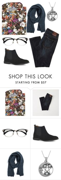 """""""Men's Floral Shirt"""" by faeriesquall ❤ liked on Polyvore featuring Abercrombie & Fitch, EyeBuyDirect.com, Topman, Muk Luks, Carolina Glamour Collection, men's fashion and menswear"""