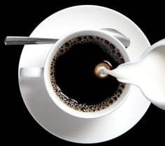 Image about black in The delicate conflict between tea and coffee and chocolate by tommimaya But First Coffee, I Love Coffee, Black Coffee, Coffee Break, Morning Coffee, Coffee Milk, Coffee Art, Hot Coffee, Coffee Drinks
