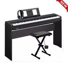 piano-yamaha-p45-chinh-hang-tai-bien-hoa Piano, Yamaha, Music Instruments, Musical Instruments, Pianos