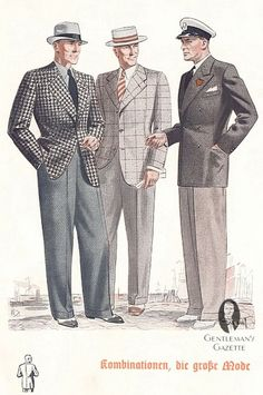 1930s menswear upper class - Google Search