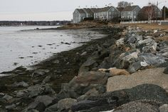 Tide is going out....Salem, Massachusetts, USA