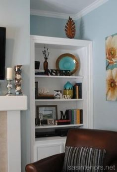 bookcase decorating ideas by LiveLoveLaughMyLife