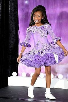 National/State level High Glitz Pageant Dress