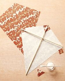 Paper Kites - Martha Stewart Bunting and streamers