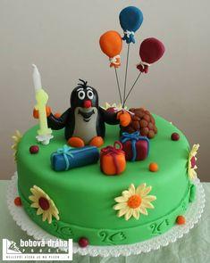 Výsledek obrázku pro krteček v dortu