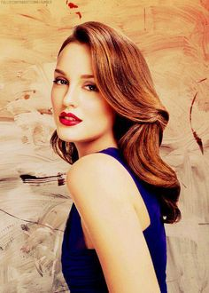 Leighton Meester. Hair. Face. What a beauty.
