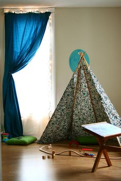 Sebastian's Room Is Cooler Than Mine by Smile And Wave, via Flickr