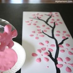Around the World in 8 Ways: Internationally Inspired Spring Crafts for Kids - Spring crafts for kids and families, with inspiration from Japan, France, Mexico, China, and the UK | Mommy Poppins - Things to Do in Boston with Kids