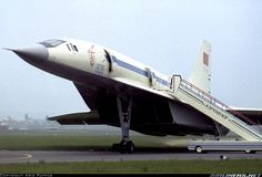 tupolev aircraft | Photos: Tupolev Tu-144 Aircraft Pictures | Airliners.net