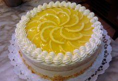 Citromtorta Sophies Sweeties konyhájából Fresh Fruit Cake, Torte Cake, Cake Cookies, Fudge, Jelly, Cake Decorating, Ale, Cheesecake, Clean Eating