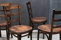 Thonet Dark Bentwood Tavern Chairs