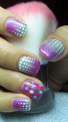 Many colors by Valkira - Nail Art Gallery nailartgallery.nailsmag.com by Nails Magazine www.nailsmag.com #nailart
