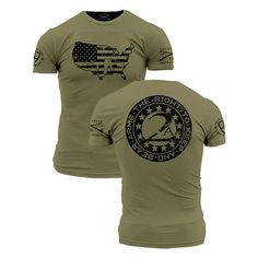 ede3e92b Grunt Style Enlisted 9 - 2nd Amendment T Shirt This We'll Defend Tactical  Clothing