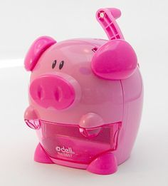 Piggy Musical Pencil Sharpener