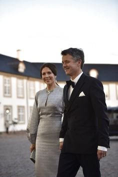 Queen Margrethe's 75th Birthday Celebrations - Dinner at Fredensborg Palace April 16, 2015.