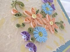 Paper quilling...would love to try it!
