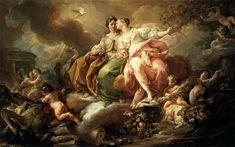 Giaquinto - La Giustizia e la Pace, 1760 – 1762, Madrid, museo del Prado.