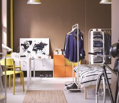 Order or view the latest version of the IKEA catalogue in print, online or in the IKEA catalogue app. Links to IKEA brochures for kitchens, wardrobes, living room storage and curtains and panels are also included. Ikea 2017 Catalog, Catalogue Ikea, Hacks Ikea, Home Furniture, Furniture Design, Feng Shui House, Ikea Usa, Gravity Home, Ikea Storage